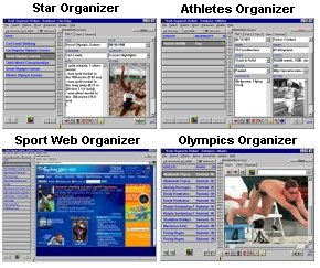 Organizer for Olympic enthusiasts.