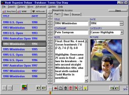 Click to view Tennis Organizer Deluxe 3.0 screenshot